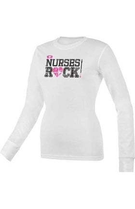 Clearance Think Medical Womens Nurses Rock Underscrub
