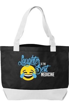 Think Medical Canvas Laughter Emoji Tote