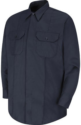 Horace Small Men's Long Sleeve Concealed Button Front EMT Shirt