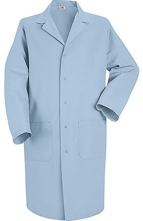 "Clearance Red Kap Men's 41½"" Lab Coat with Grippers"