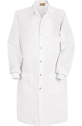 "Red Kap Unisex Knit Cuff 41½"" Lab Coat"