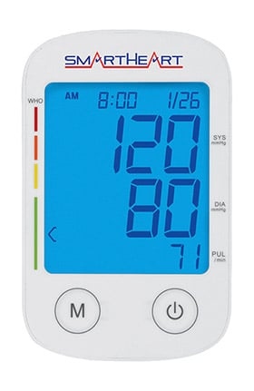Veridian Healthcare SmartHeart Large Adult Cuff Automatic Arm Blood Pressure Monitor
