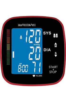 Veridian Healthcare Smartheart Automatic Wide Range Cuff Arm Blood Pressure Monitor