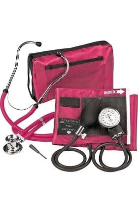 Clearance Veridian Healthcare ProKit Adjustable Aneroid Sphygmomanometer & Sprague Stethoscope Kit