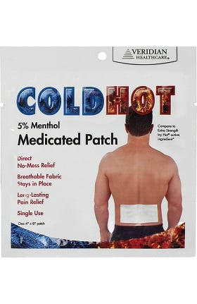 Veridian Healthcare Cold/Hot Medicated Patch