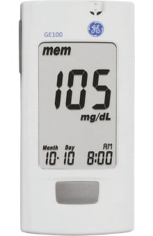 Veridian Healthcare GE Blood Glucose Monitoring System