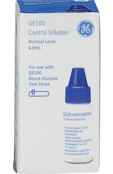 Veridian Healthcare GE Blood Glucose Test Strips Control Calibration Solution