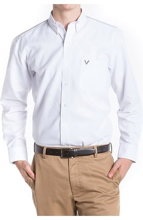 Clearance VESTEX® Basics Men's Long Sleeve Dress Shirt