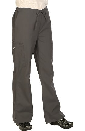 Clearance VESTEX® Basics Women's Flare Leg Scrub Pant