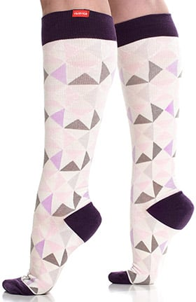 VIM & VIGR Women's Cotton Wide Calf 15-20 mmHg Compression Sock