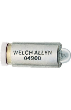 Welch Allyn 04900 3.5V Halogen Lamp For Coaxial Ophthalmoscopes & AutoStep Coaxial Ophthalmoscopes