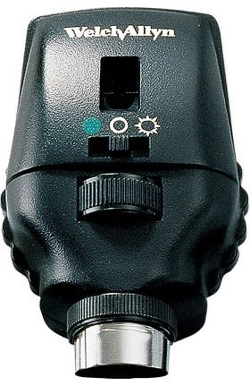 Welch Allyn 3.5V AutoStep Coaxial Ophthalmoscope Head 11730