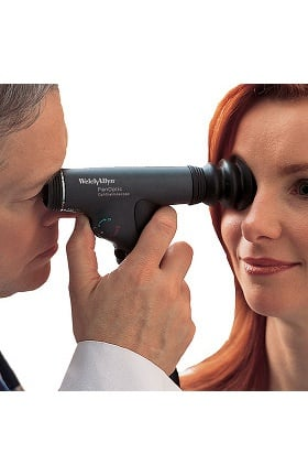 Welch Allyn PanOptic Ophthalmoscope Head with Half-Moon Aperture 11810