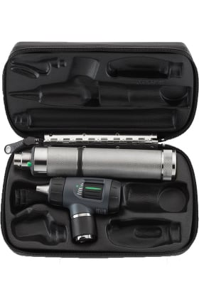 Welch Allyn Otoscope, Rechargeable Handle & Hard Case Set 25270-M