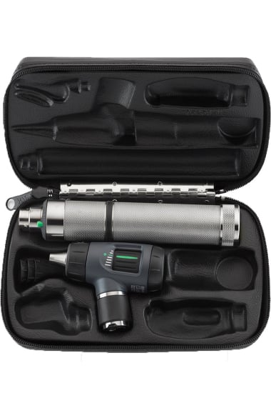 Welch Allyn Otoscope, Rechargeable Handle & Hard Case 25270