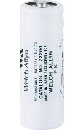 Welch Allyn 3.5V Nickel-Cadmium Rechargeable Battery 72200