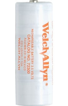 Welch Allyn 3.5V Nickel-Cadmium Rechargeable Battery 72300
