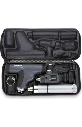 Welch Allyn PanOptic Classic Diagnostic Set with Cobalt Filter, Magnifying Lens & Convertible Handle 97200-MPC