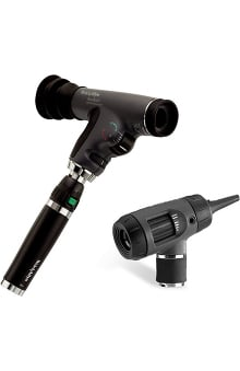 Welch Allyn PanOptic Classic Diagnostic Set with Cobalt Filter, Magnifying Lens & Lithium-Ion Smart Handle 97200-MPS