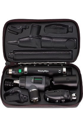 Clearance Welch Allyn 97200-MS 3.5V Coaxial Diagnostic Set with Throat Illuminator & Lithium-Ion Smart Handle