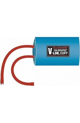 W.A. Baum Co. Non-Latex V-Lok BP Cuff & Inflation Bag Combo - Adult (25 cm To 35 cm)