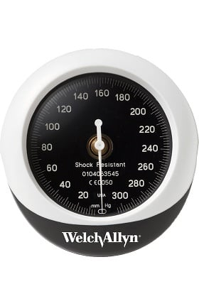 Welch Allyn DuraShock Integrated Aneroid Sphygmomanometer Gauge Only DS45G