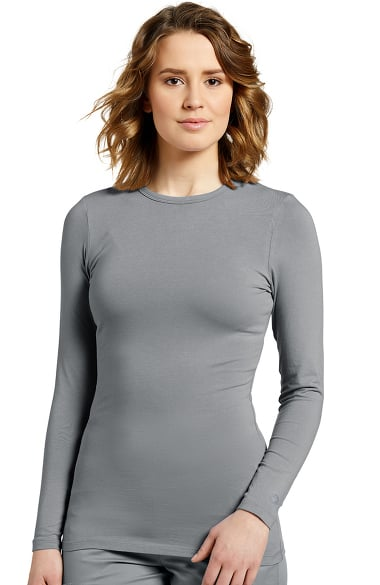 12f108acdeb0ae White Cross Women's Long Sleeve Crew Neck Solid Stretch T-Shirt |  allheart.com