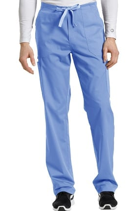 Allure by White Cross Men's Drawstring Fly Cargo Scrub Pant
