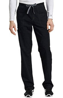 Allure by White Cross Men's Contrast Stitch Drawstring Fly Cargo Scrub Pant