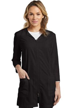 "Fit by White Cross Women's Zip Front 32"" Lab Coat"