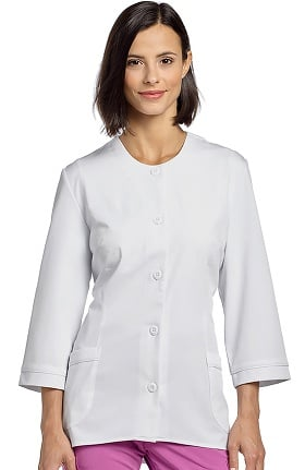 "Marvella by White Cross Women's ¾ Sleeve 29⅝"" Lab Jacket"