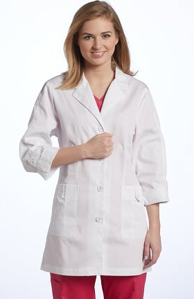 "Allure by White Cross Women's Roll-Up Sleeve 30"" Lab Coat"