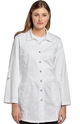 "Clearance Allure by White Cross Women's Roll-Up Sleeve 32¼"" Lab Coat"