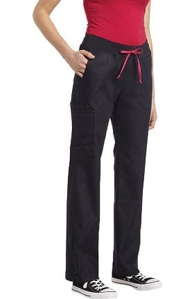 Allure by White Cross Women's Denim Yoga Scrub Pant