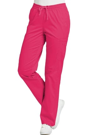 Clearance Allure by White Cross Women's Elastic Waist Cargo Scrub Pant