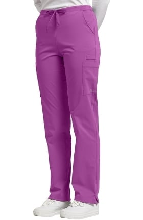 Clearance Fit by White Cross Women's Drawstring Cargo Scrub Pant
