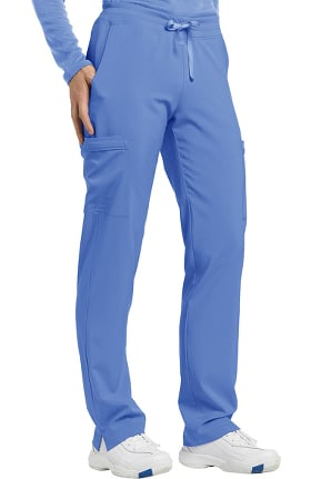 Fit by White Cross Women's Drawstring Cargo Scrub Pant