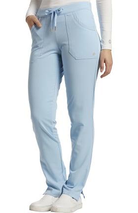 Marvella by White Cross Women's Soft Drawstring Straight Leg Scrub Pant