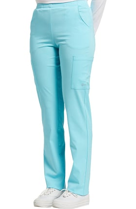 Clearance Fit by White Cross Women's Flat Waistband Cargo Scrub Pant