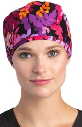 White Cross Women's Scarlett Print Scrub Hat