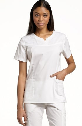 Allure by White Cross Women's Notch V-Neck Top