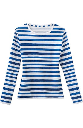 Clearance Fundamentals by White Swan Women's Striped Layering Underscrub
