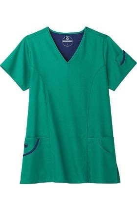 Clearance F3 Fundamentals by White Swan Women's Favorite Fit Scrub Top
