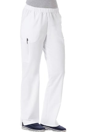 Clearance F3 Fundamentals by White Swan Women's Twill Elastic Waist Scrub Pant