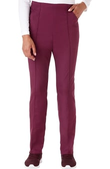 Fundamentals by White Swan Women's Pintuck Taper Straight Leg Pant