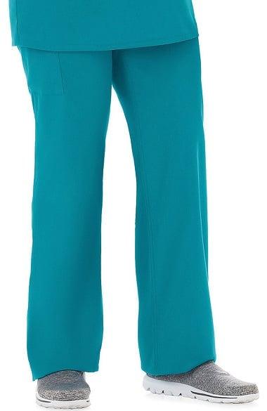 NEW Fundamentals by White Swan Green Draw String Scrub Pants Medium FREE SHIP