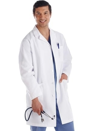 "Fundamentals by META Labwear Men's 38"" Lab Coat"