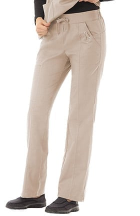 Clearance Bio Women's Grommet Detail Cargo Scrub Pant