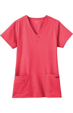 Clearance Classic Fit Collection by Jockey Women's Tri Blend Solid Scrub Top