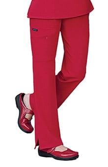 Classic Fit Collection by Jockey® Women's Tri Blend Zipper Scrub Pants